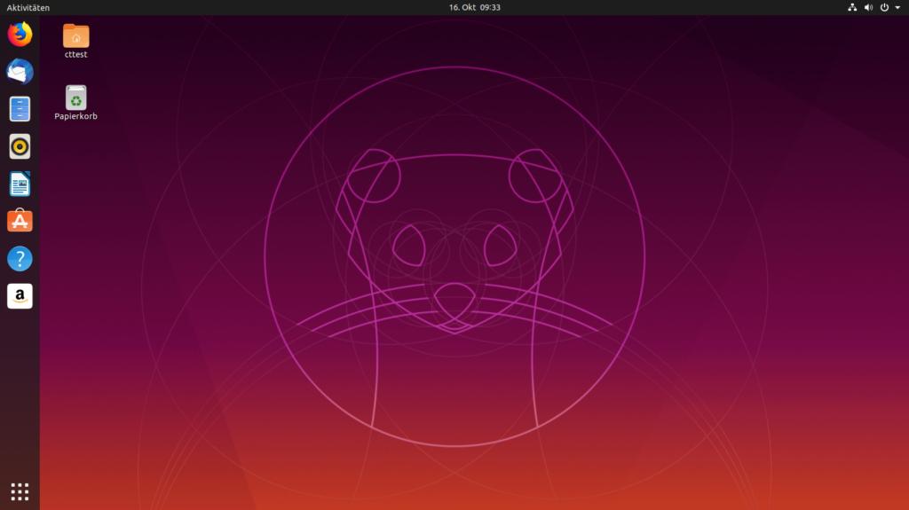 Ubuntu Desktop 19.10