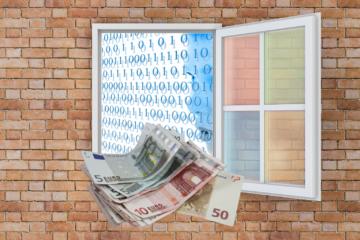Geld Fenster